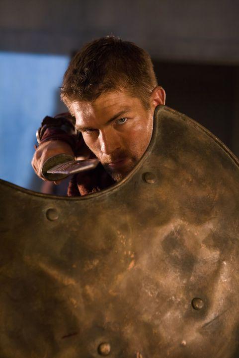 Unbeirrt von allen Problemen wandert Spartacus (Liam McIntyre) mit seinen Männern durch das Land und befreit Sklaven. Währenddessen versucht Glaber,... - Bildquelle: 2011 Starz Entertainment, LLC. All rights reserved.