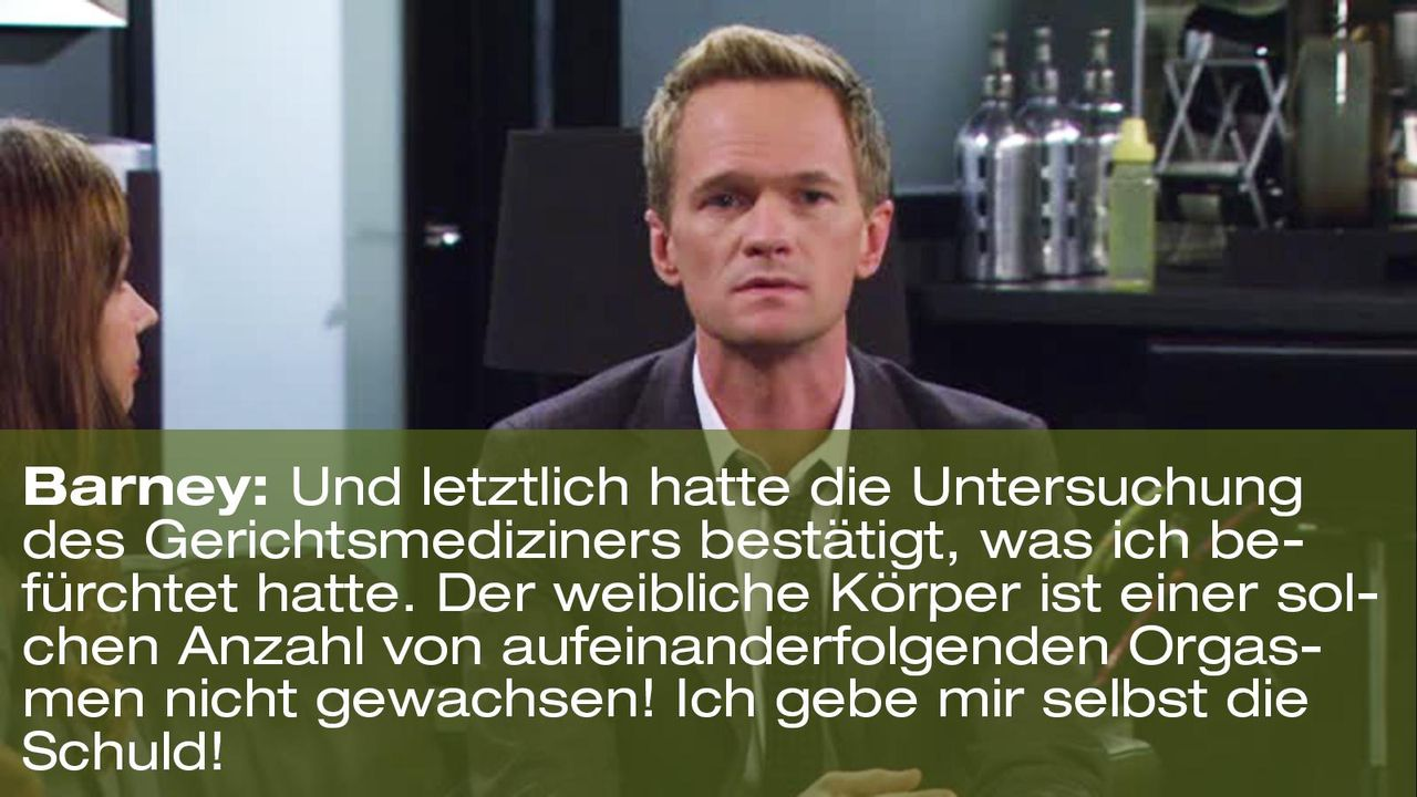 how-i-met-your-mother-zitat-quote-staffel-8-episode-3-nannies-super-nanny-5-barney-foxpng 1600 x 900 - Bildquelle: 20th Century Fox