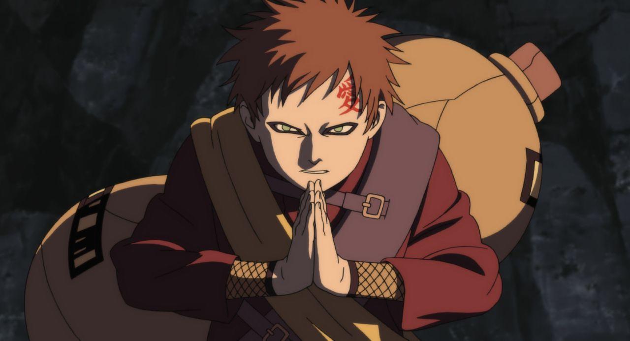 Naruto und seine Freunde erfahren, dass ein Mann namens Haido plant, Utopia, eine Welt ohne Kriege zu erschaffen, und dafür den Stein von Gelel brau... - Bildquelle: 2002 Masashi Kishimoto.   NMP 2005.