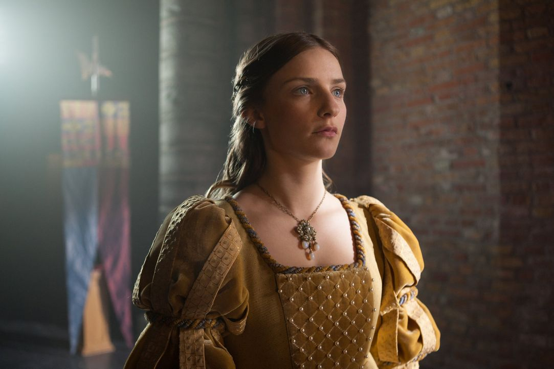 Anne Neville (Faye Marsay) wird mit Edward of Lancaster verheiratet ... - Bildquelle: 2013 Starz Entertainment LLC, All rights reserved