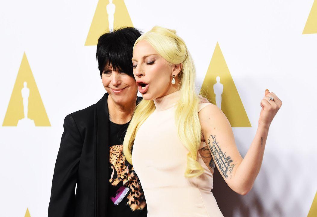 Oscar-Nominees-Luncheon-Lady-Gaga-Diane-Warren-160208-AFP - Bildquelle: AFP