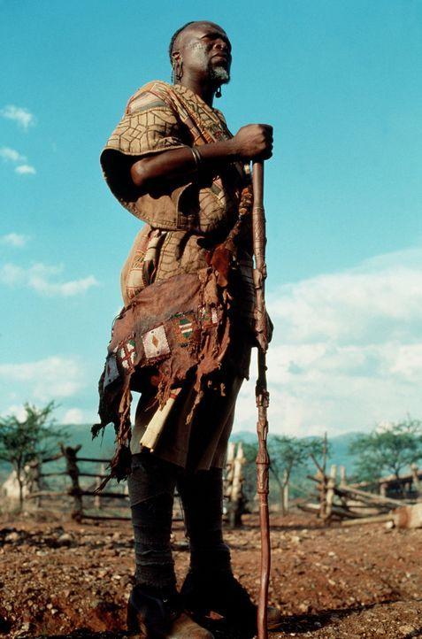 Der eingeborene Dolmetscher Samuel (John Kani) kennst sich bestens mit der afrikanischen Tierwelt aus ... - Bildquelle: Paramount Pictures