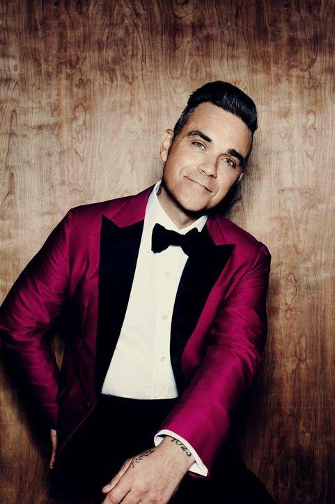 """kabel eins zeigt die schönsten """"Kuschel-Rock""""-Momente aus drei Jahrzehnten Musik-, Film- und Zeit-Geschichte. Da darf natürlich auch Robbie Williams... - Bildquelle: Sony Music Entertainment"""