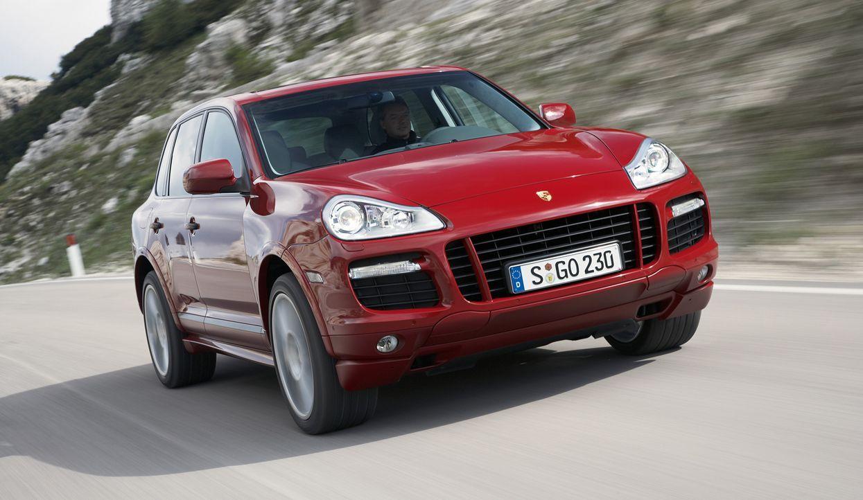 Porsche Cayenne - Bildquelle: usage Germany only, Verwendung nur in Deutschland