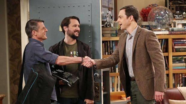 Jetzt zahlt sich Sheldons (Jim Parsons, l.) Nerd-Wissen aus: Zusammen mit Ada...