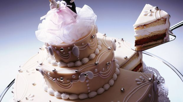 Torte mit Buttercreme