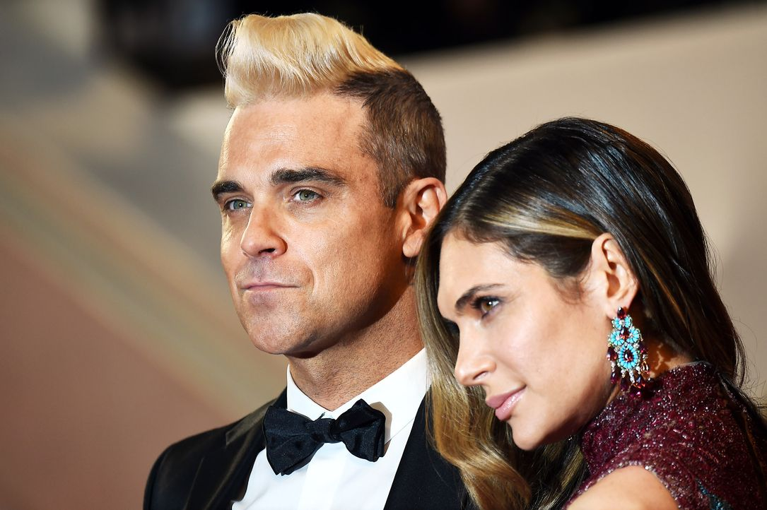 Cannes-Film-Festival-Robbie-Williams-Ayda-Field-2-150516-AFP - Bildquelle: AFP