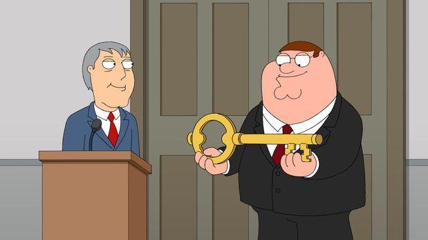 Family Guy - Nach der eigentlich unabsichtlichen Rettung des Kindes wird Pete...