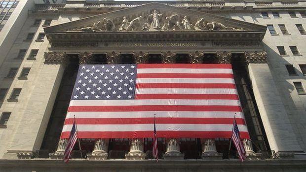 Zentral im Finanzdistrikt ist die New Yorker Stock Exchange.