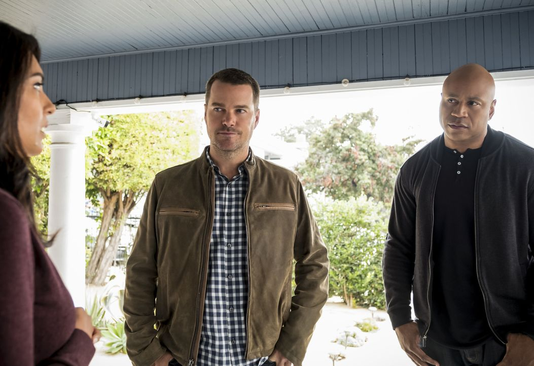 G. Callen (Chris O'Donnell, l.); Sam Hanna (LL Cool J, r.) - Bildquelle: Jessica Brooks 2018 CBS Broadcasting, Inc. All Rights Reserved/Jessica Brooks