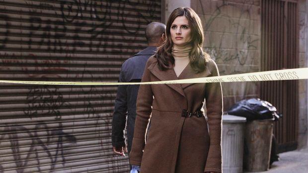 Kate Beckett (Stana Katic) ist etwas überrascht, dass sich die Schauspielerin...