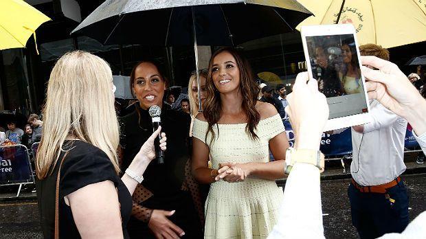 US-amerikanisch-britisches Doppel unterm Schirm - Bildquelle: Getty Images