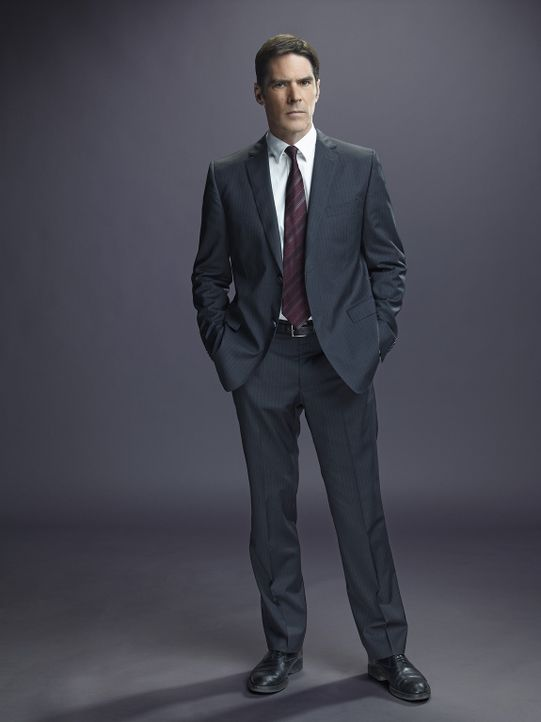 (10. Staffel) - Mit seinen Kollegen bringt Special Agent Aaron Hotchner (Thomas Gibson) jeden Serientäter zur Strecke ... - Bildquelle: Cliff Lipson ABC Studios