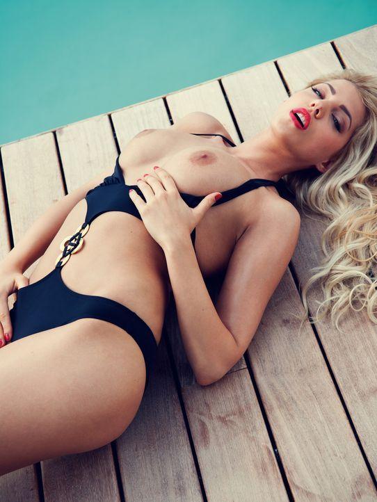 Sarah Nowak - Bildquelle: Thomas Fiedler für Playboy August 2014