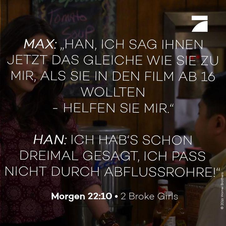 Max und Han Staffel 6 Episode 19 - Bildquelle: Warner Bros. Television