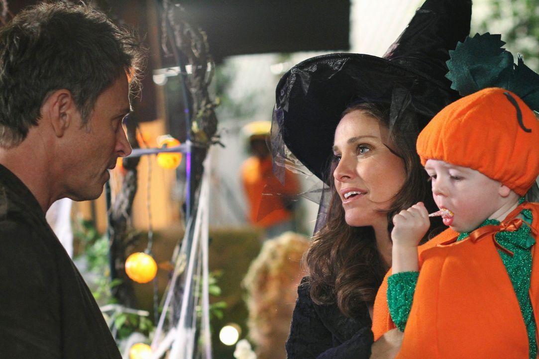 Familiensache: Violet (Amy Brenneman, M.), Pete (Tim Daly, l.) und Lucas (Darsteller unbekannt, r.) ... - Bildquelle: ABC Studios