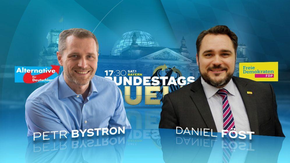 AfD gegen FDP: Bystron gegen Föst