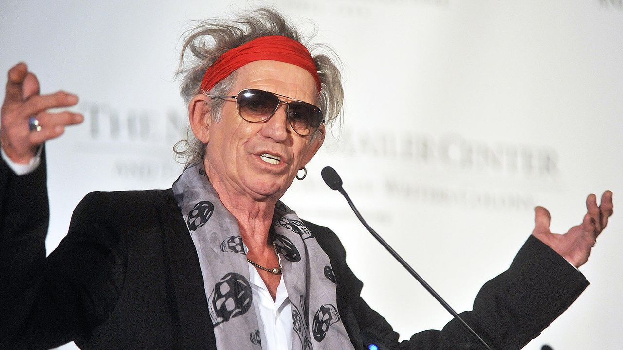 Keith Richards Schmuddel-Look - Bildquelle: Getty Images/AFP