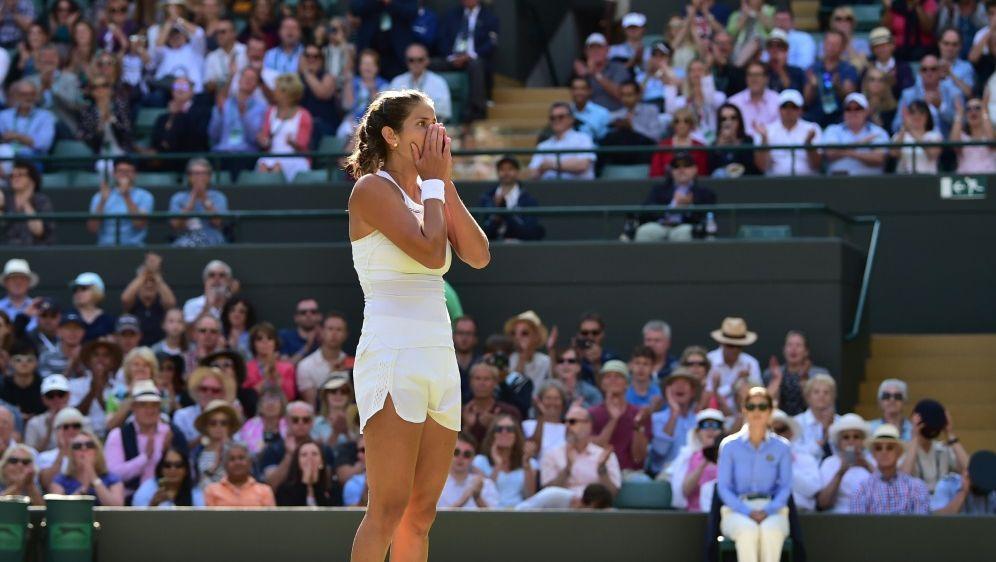 Julia Görges trifft im Halbfinale auf Serena Williams - Bildquelle: AFPSIDGlyn KIRK