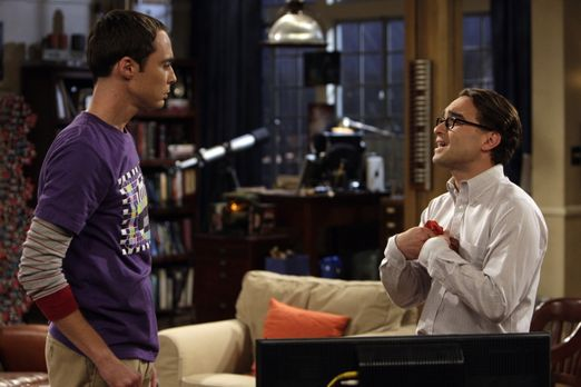 The Big Bang Theory - Da Penny einen neuen Freund hat, lässt sich Leonard (Jo...