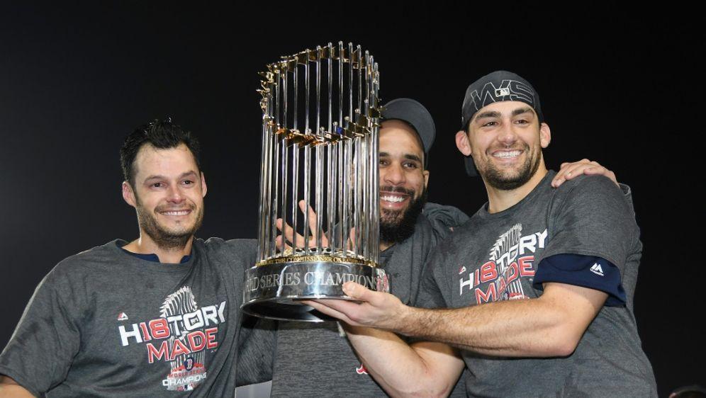 MLB: Neunter Titel für die Boston Red Sox - Bildquelle: GETTY IMAGES NORTH AMERICAGETTY IMAGES NORTH AMERICASIDHarry How