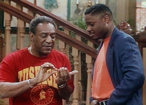 Bill Cosby Show - Am Tag von Theos (Malcolm-Jamal Warner, r.) Universitätsabs...