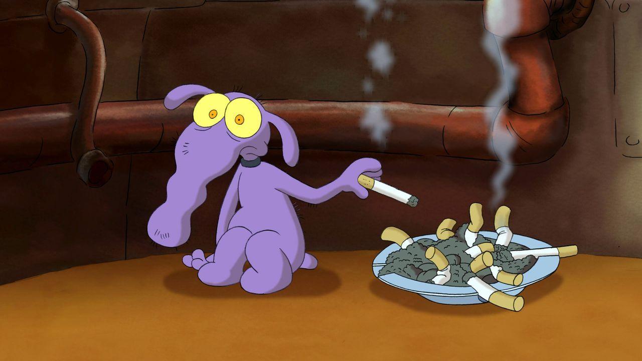 Aus Hund Peppi soll alter Sack werden - das kleine Arschloch will ihn mit der DNA aus alten Fußnägeln klonen ... - Bildquelle: 2006 Senator Film