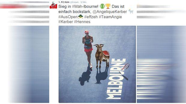 1. FC Köln Tweet - Bildquelle: twitter / fckoeln