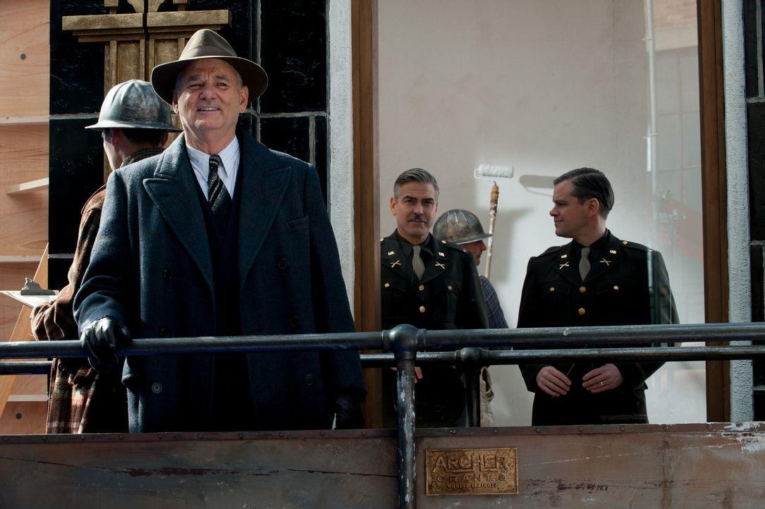 Sie können den US-Präsidenten Roosevelt überzeugen, sie nach Europa zu schicken, um von Nationalsozialisten verschleppte Kunstwerke zurückzuholen: S... - Bildquelle: Claudette Barius 2014 Columbia Pictures Industries, Inc. and Twentieth Century Fox Film Corporation.  All rights reserved.