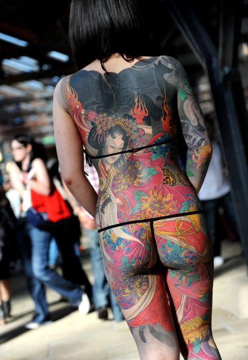 Tattoo16_dpa - Bildfunk - Bildquelle: dpa - Bildfunk