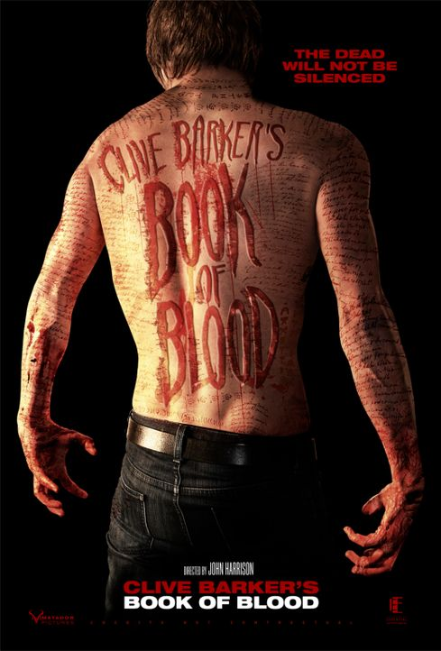 BOOK OF BLOOD - Plakatmotiv - Bildquelle: Sunfilm