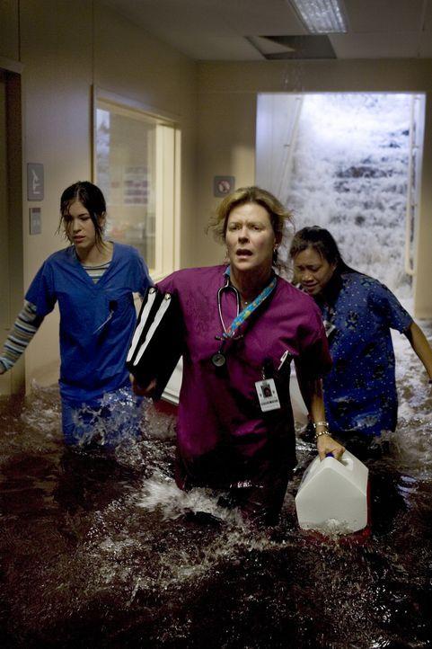 """In Houston herrscht der Ausnahmezustand, als der tropische Sturm """"Allison"""" mit Regen, Orkanböen und Überflutungen das normale Leben völlig lahm legt... - Bildquelle: MMV Paramount Pictures Corporation. All Rights Reserved."""