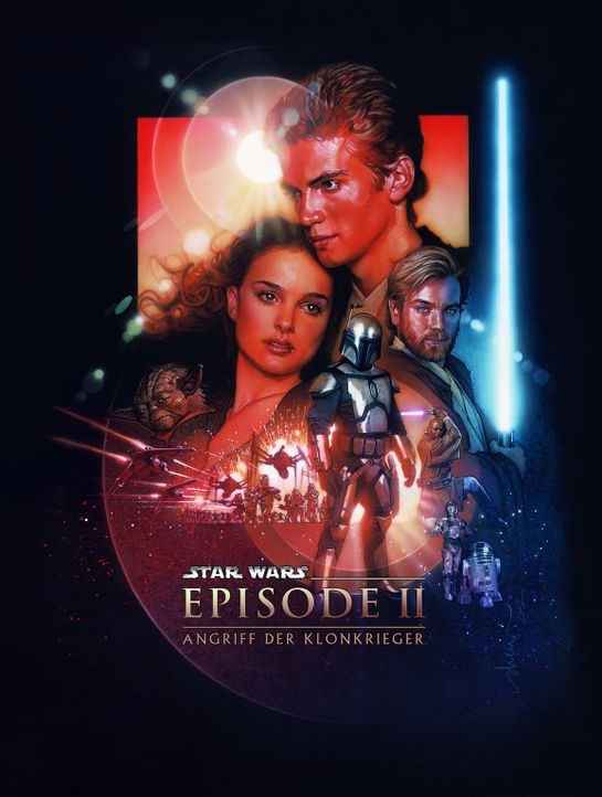Star Wars: Episode II - Angriff der Klonkrieger - Plakatmotiv - Bildquelle: Lucasfilm Ltd. & TM. All Rights Reserved.