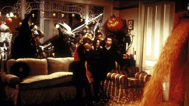 Sabrinas Halloween-Party ist voller Überraschungen: Möbel sprechen, Termiten...