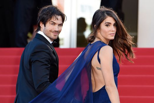 Cannes-Film-Festival-Ian-Somerhalder-Nikki-Reed-15-05-20-AFP - Bildquelle: AFP