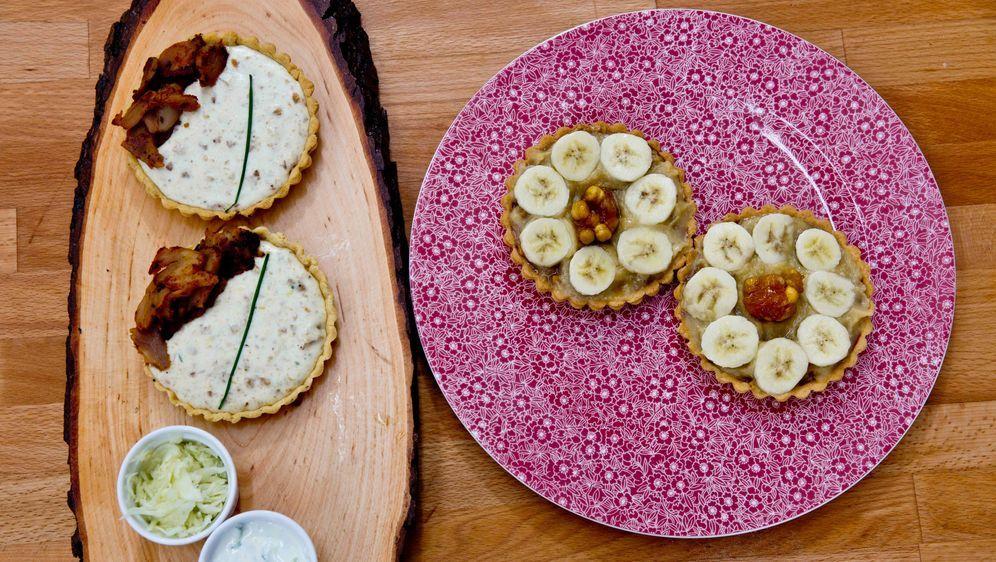 """Ebrus """"Schoko-Bananen-Tartelette"""" und ..."""