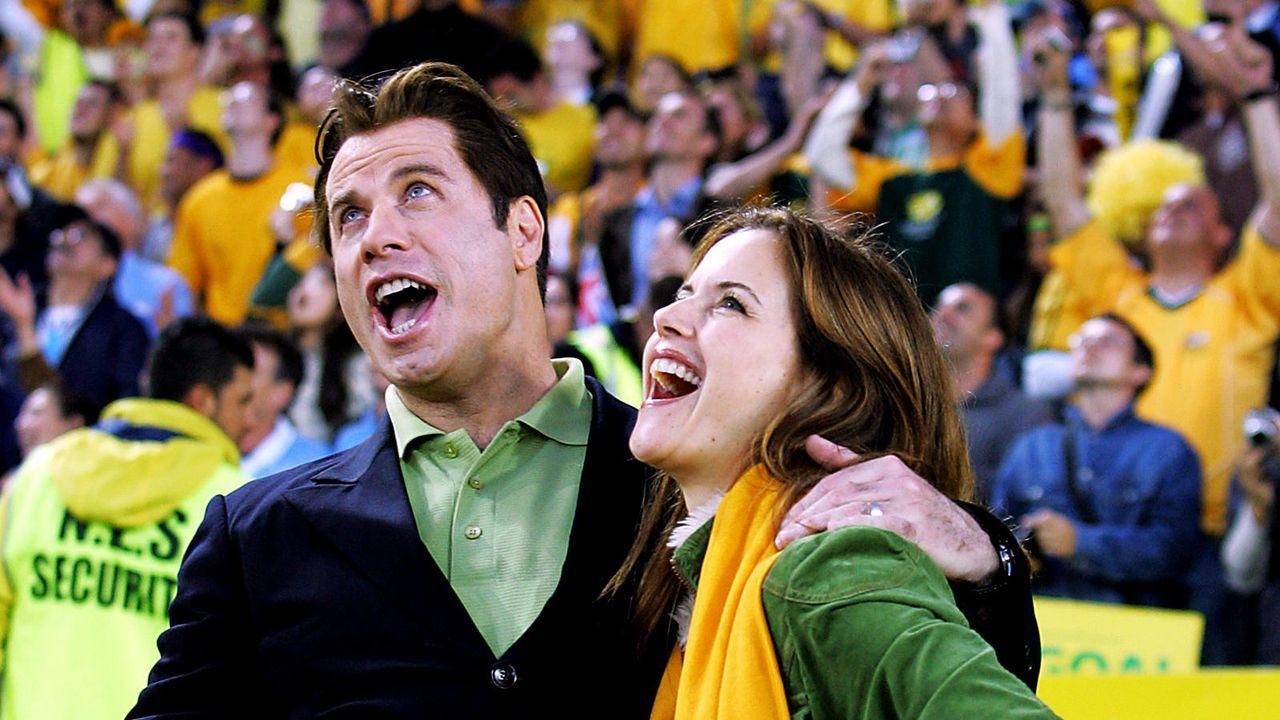 John Travolta und Kelly Preston - Bildquelle: AFP