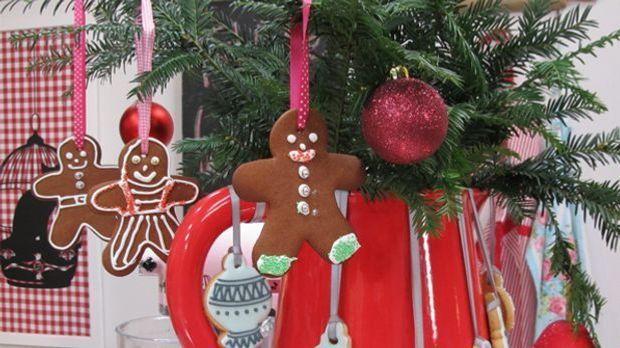 Ob als Deko oder zum Reinbeißen, die Gingerbread-People sind einfach in jedem...