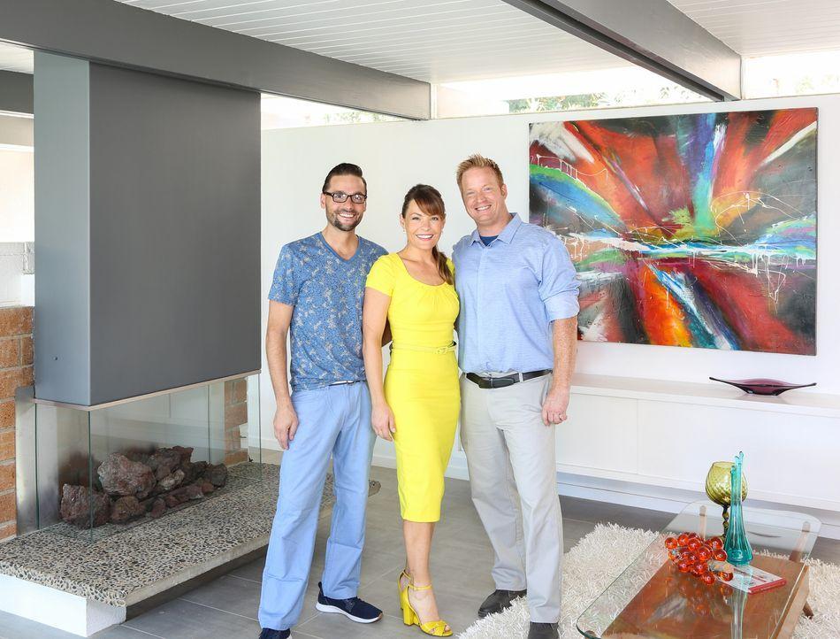 (v.l.n.r.) Mike; Lindsey Bennett; Eric Bennett - Bildquelle: 2017,HGTV/Scripps Networks, LLC. All Rights Reserved
