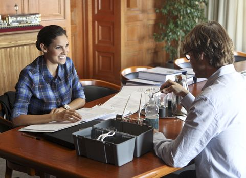 Untersuchen einen neuen Fall: Kensi (Daniela Ruah, l.) und Deeks (Eric Christ...