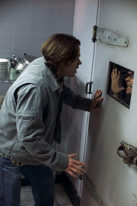 Eine Gruppe von Göttern entführt Sam (Jared Padalecki) und Dean und versucht, sie zu benutzen, um den Handel mit den Engeln zu unterbinden und so di... - Bildquelle: Warner Brothers