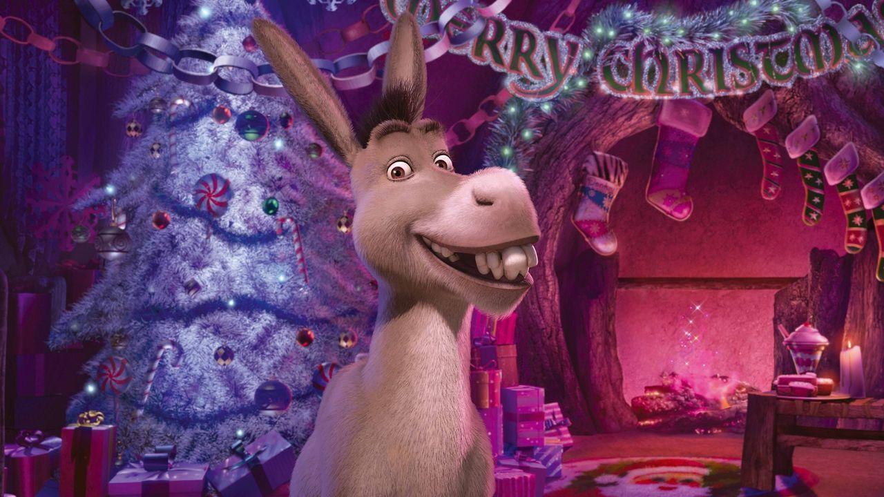 Auch der Esel hat einige verwirrende Tipps für Shrek parat ... - Bildquelle: 2007   DreamWorks Animation LLC.  All rights reserved.