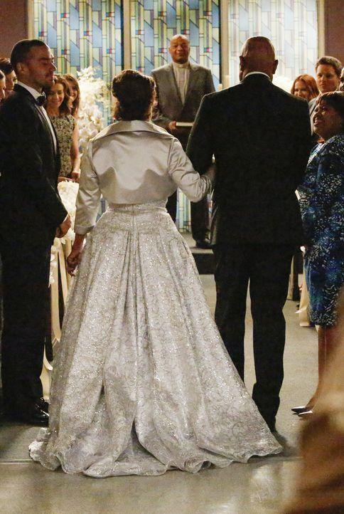 Damit hat niemand mehr gerechnet: Richard (James Pickens, Jr., M.r.) und Catherine (Debbie Allen, M.l.) geben sich das Ja-Wort ... - Bildquelle: ABC Studios