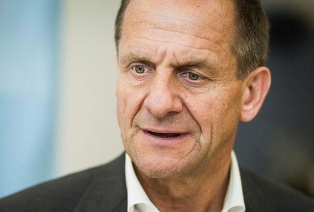 Alfons Hörmann lobt die Leistung der deutschen Athleten