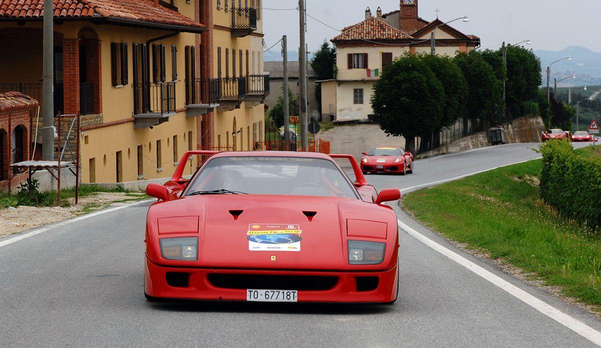 Ferrari F40 - Bildquelle: usage Germany only, Verwendung nur in Deutschland