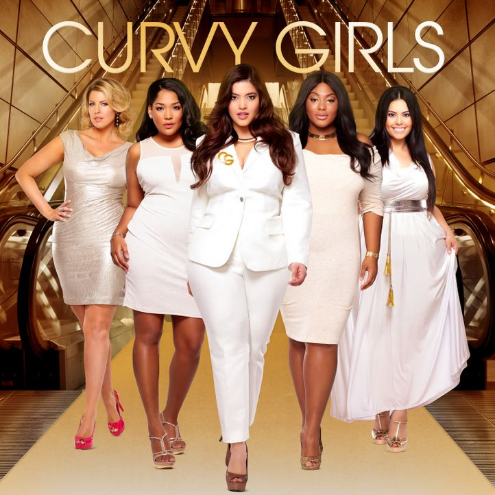 (2. Staffel) - Curvy Girls - Models XXL - Artwork - Bildquelle: MMXIII SiTv, Inc. All rights reserved.