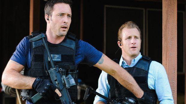 Als eine Chirurgin ermordet wird, müssen Danny (Scott Caan, r.) und Steve (Al...