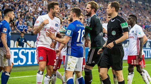 FC Schalke 04 gegen Hamburger SV