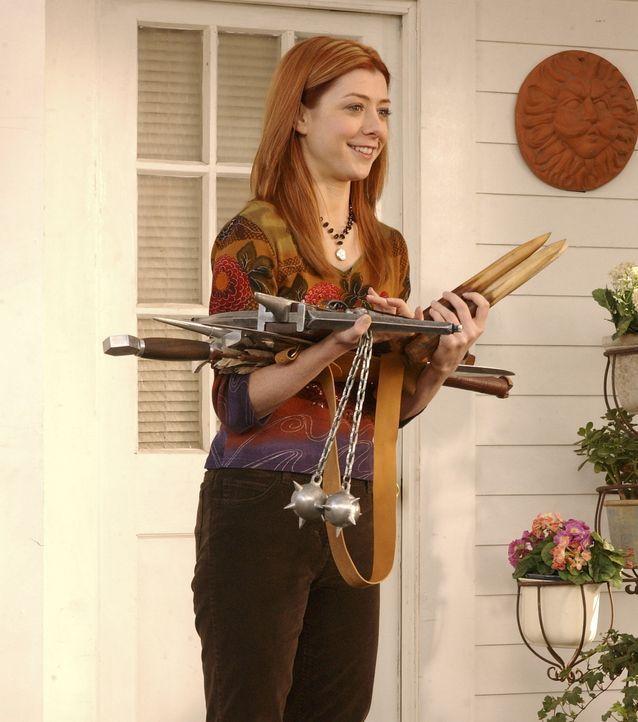 Um Buffy zur Rückkehr zu verhelfen, muss Willow (Alyson Hannigan) einen Zauber anwenden, der jedoch nicht ganz ungefährlich ist ... - Bildquelle: TM +   Twentieth Century Fox Film Corporation. All Rights Reserved.