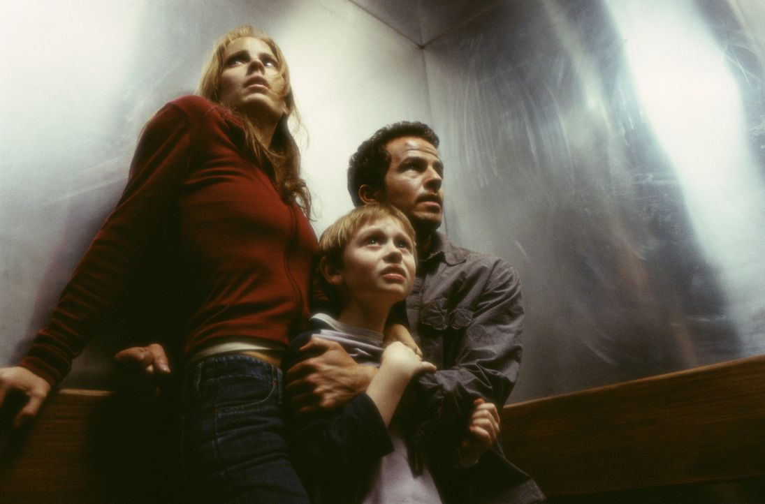 Im Visier einer bitterbösen Zahnfee: (v.l.n.r.) Caitlin (Emma Caulfield), Michael (Lee Cormie) und Kyle (Chaney Kley) ... - Bildquelle: 2004 Sony Pictures Television International. All Rights Reserved.